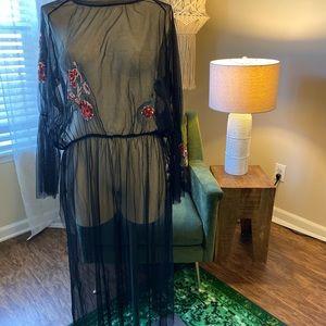 Zara mesh dress